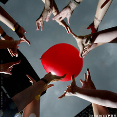 Hands _n Red Balloon