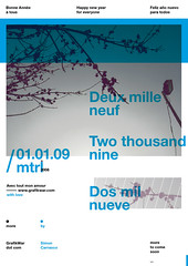 Happy New Year ([GW] GrafikWar) Tags: 2009 happynewyear grafikwar simoncarrasco