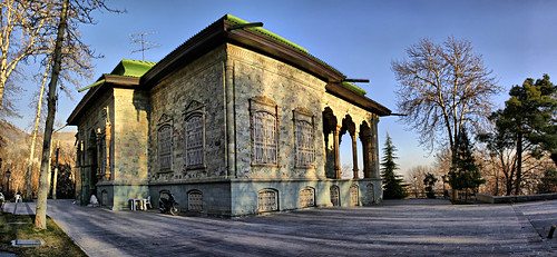 Reza Shah Sadabad Palace (کاخ-موزه سبز (قصر سنگی، کاخ شهوند، کاخ رضا شاه پهلوی))