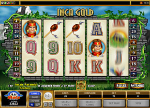 Inca Gold slot game online review