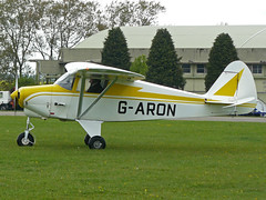 G-ARON (QSY on-route) Tags: garon kemble egbp gvfwe greatvintageflyingweekend 09052010