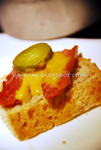 Open Face Ox Tongue Sandwich (Wholemeal Bread)