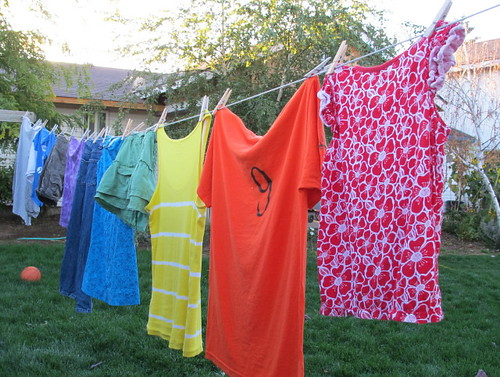 My rainbow clothesline #6