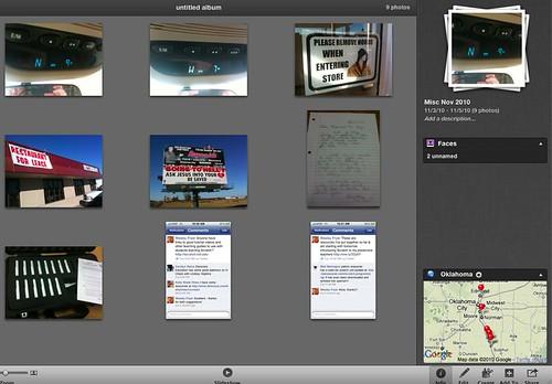 iPhoto '11 - Nice Geo Tagging