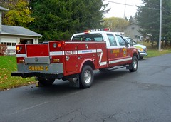 OHFD Squad 5 (ironmike9) Tags: fire engine squad emergency nystatefair onondagahillny