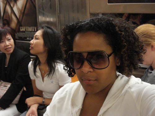 i wear km's sunglasses