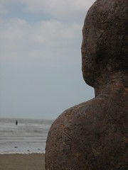 (dragonflysky) Tags: antonygormley merseyside anotherplace crosbybeach