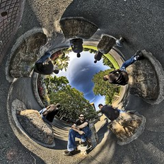 Sittin' Stones (Josh Sommers) Tags: portrait panorama projection hdr allrightsreserved stereographic hugin photomatix tonemapping 3exp nodalninja copyrightjoshsommers2007