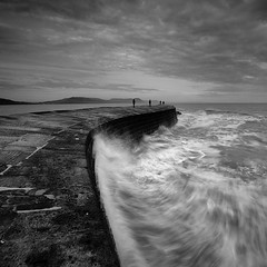 The Cobb I (Adam Clutterbuck) Tags: ocean uk greatbritain sea england blackandwhite bw seascape monochrome square landscape mono coast pier blackwhite bravo waves cafegallery harbour wave bn coastal shore elements dorset gb cobb blogged bandw southcoast sq limitededition lymeregis lyme regis fa breakwater chaotic thecobb jurassiccoast greengage accepted1of100bw adamclutterbuck fivestarsgallery winnerflickrsweekly50contest sqbw bwsq blackribbonbeauty spittinshells showinrecentset shortedition ostrellina le50 limitededition50
