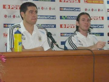 Juan Roman Riquelme - Lionel Messi