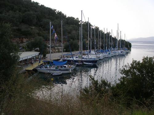 Port Vathi, Meganisi