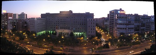 Madrid Terrace Pano