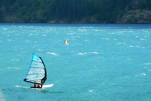 Windsurfing Chelan