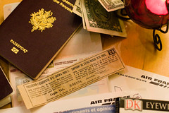 Moscow awaits! (ole) Tags: trip paris france lamp europe russia dollar pocket passport visa loan airfrance  coupon russe  nogentsurmarne emprunt empruntrusse russianloan