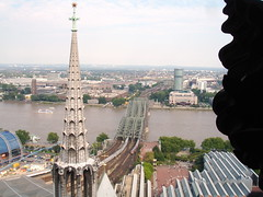 Cologne - Tower (view from Dom)
