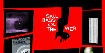 """Saul Bass Website and """"Hitchcock"""" Font Are Back – Typographica"""