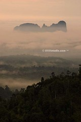 Bukit Caras, Panching (2121studio) Tags: morning mountain tree beautiful fog sunrise peace view top hill calm malaysia kuantan pahang nur sglembing barrackobama bukitpanorama nubleenublialumnismartsmtsekmenteknikkuantan