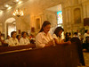 Gov.  Gwen Garcia in Bantayan church