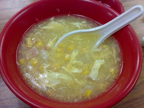 又濃又香玉米濃湯
