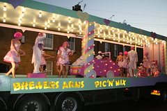 The Brewers arms - Pic n mix float (gizmo_man) Tags: carnival village south somerset fair parade floats 2007 majorettes petherton southpetherton somersetcarnival southpethertoncarnival2007