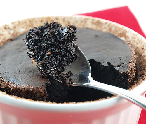 Spiced Chocolate Souffle