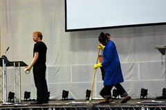 Hack Day - cleaning the stage
