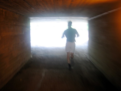 Runner in tunnel courtesy of Frech from Flickr