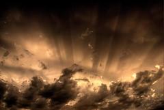 Rays (Thad Roan - Bridgepix) Tags: sunset sky clouds skyscape colorado shadows denver rays sunrays coolest littleton supershot 200706 mywinner abigfave
