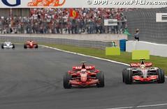 GP Francia - Raikkonen vs Hamilton