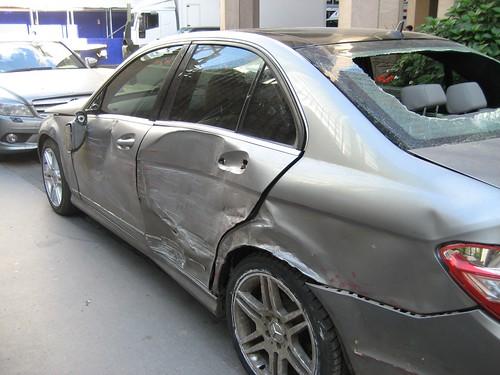 skade på bil