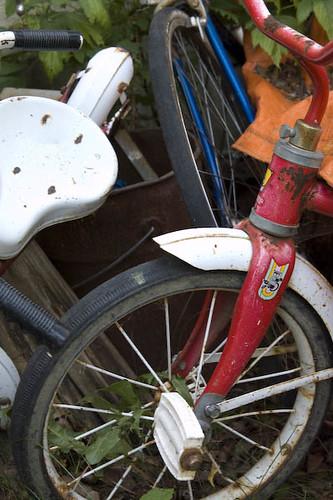 Three Bike Pileup