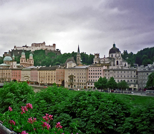 photo - Salzburg view from hotel balcony