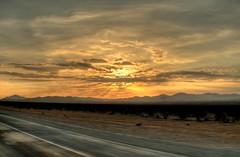 Desert Sunrise HDR