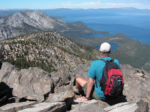 20070815 Me on Mt. Tallac