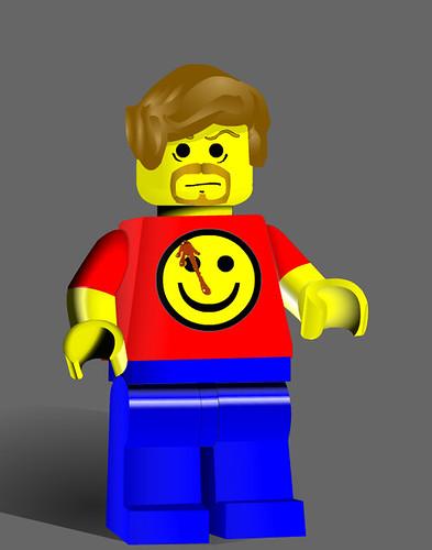 Lego minifig Tim