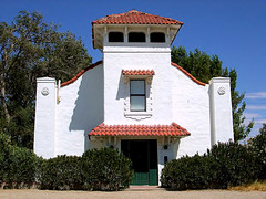 Mojave Church (stars4esther) Tags: california church desert socal mojave southerncalifornia greendoor spanishstyle kerncounty stars4esther