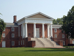 Old College (sugnspice1414) Tags: morning greengrass oldcollege