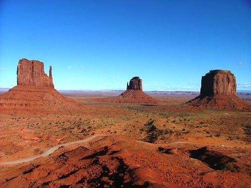 Three Sentinels - Monument Valley by Creativity+ Timothy K Hamilton.