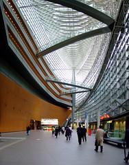 403 東京 東京國際會議中心 (Chrischang) Tags: autostitch building japan architecture geotagged tokyo 日本 東京 tokyointernationalforum 東京国際フォーラム 2007 rafaelvinoly japan2007 geo:tool=gmif 20070403 geo:lon=139763775 geo:lat=35676542
