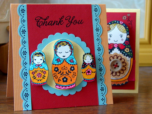 Matryoshka Doll Card