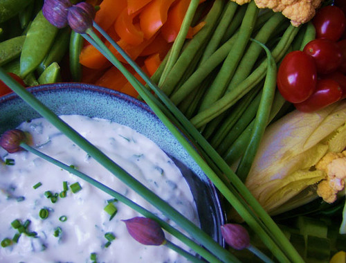 Herbed Blue Cheese Dressing and Dip