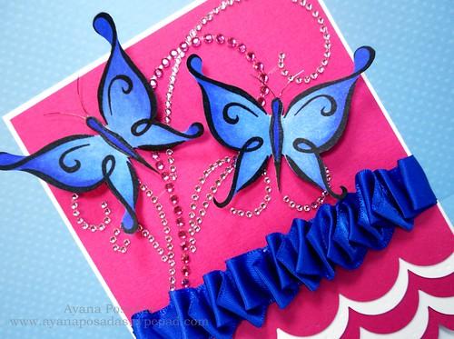 Blue DeNami Butterflies (3)