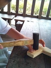 スマッキーで親子木工教室