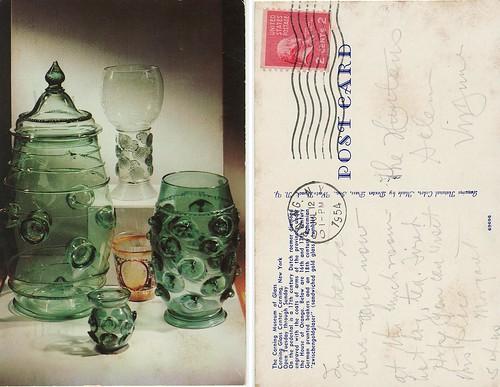 POSTCARD: Corning Museum of Glass