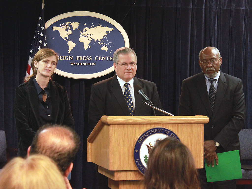 Assistant Secretary Carson, Special Envoy Gration, and Special Assistant Power Brief on Sudan