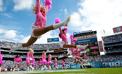 Patriots vs. Chargers (San Diego Chargers) Tags: cheerleaders sandiego chargers chargergirls