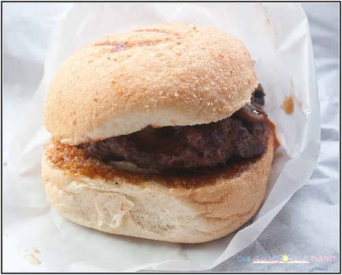 Big Better Burger's Shitake Teriyaki Burgers (P147)