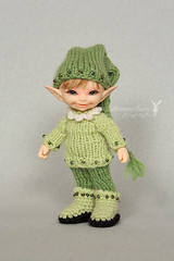 Pif (Maram Banu) Tags: doll handmade clothes bjd knitted crocheted soso fairyland outfits fairystyle realpuki marambanu