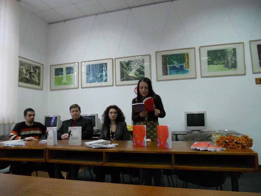 Diana Corcan şi Dan Bistricean – poezie brăileană lansată la Suceava