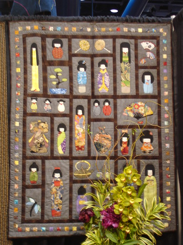 Kokeshi Doll Quilt